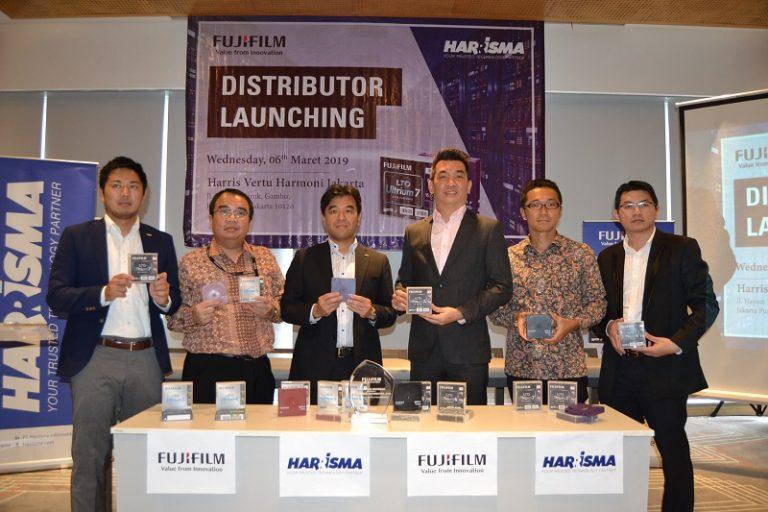 Sinergi Fujifilm-Harrisma Pasarkan Fujifilm LTO Ultrium Data Cartridge di Indonesia