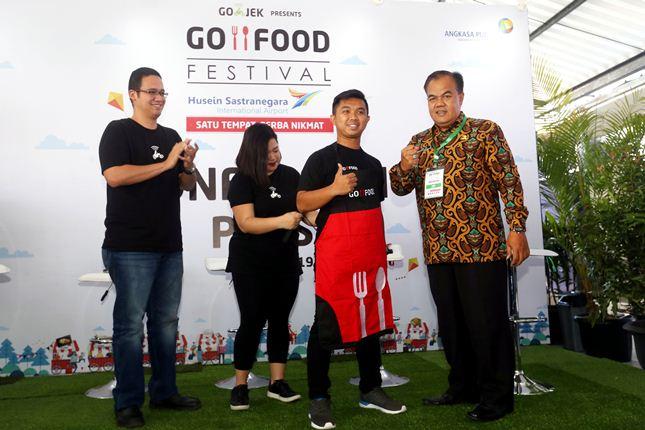 Diisi 25 Merchant Kuliner, GO-FOOD Festival Kini Hadir di Bandara Husein Sastranegara
