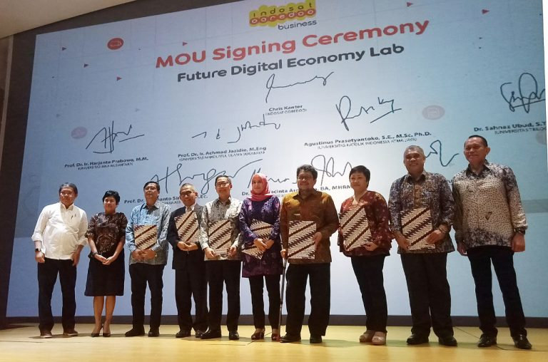 Dukung Revolusi Industri 4.0, Indosat Ooredoo Business Hadirkan Future Digital Economy Lab
