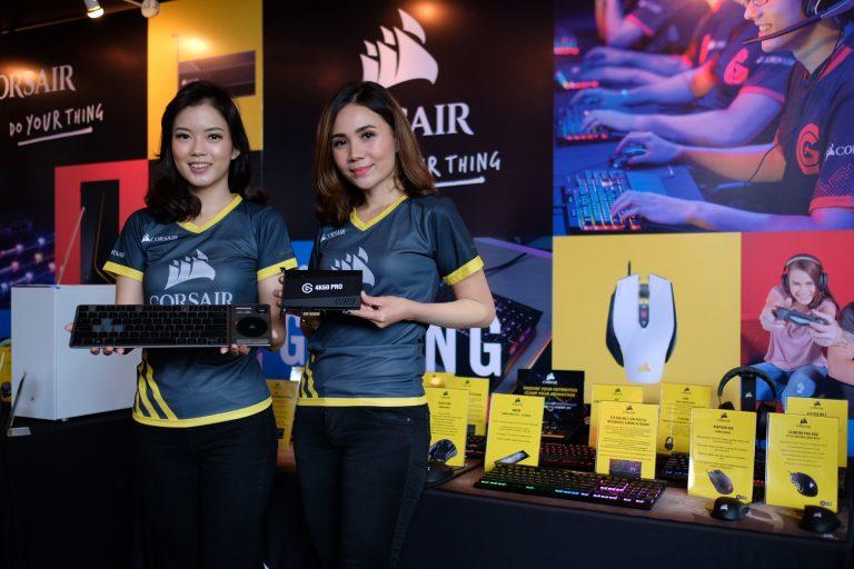 Ramaikan Pasar Game Indonesia, Corsair Sajikan Jajaran Produk Pendukung Para Gamers
