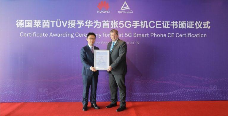 Huawei Mate X Kantongi Sertifikat 5G CE dari TÜV Rheinland