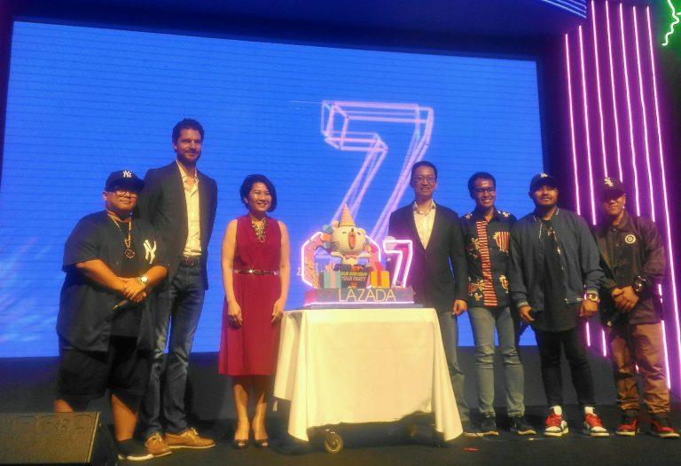 HUT Ke-7, Lazada Perkenalkan Shoppertainment sekaligus Boyong Dua Lipa dan Agnez Mo