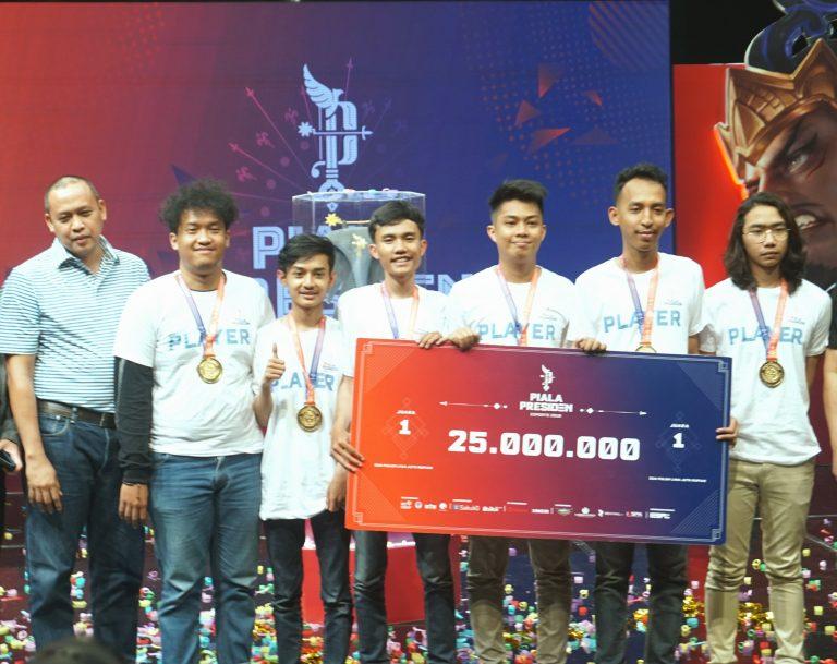 Tim Humble Jawara Kualifikasi Regional Turnamen Piala Presiden Esports 2019 Regional Bekasi