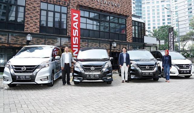 Halau Tantangan Berkendara di Perkotaan Berkat Teknologi Cerdas All New Nissan Serena