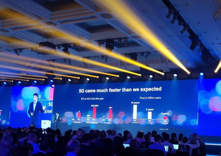 Menurut Huawei, Adposi 5G akan Lebih Cepat Daripada 3G dan 4G