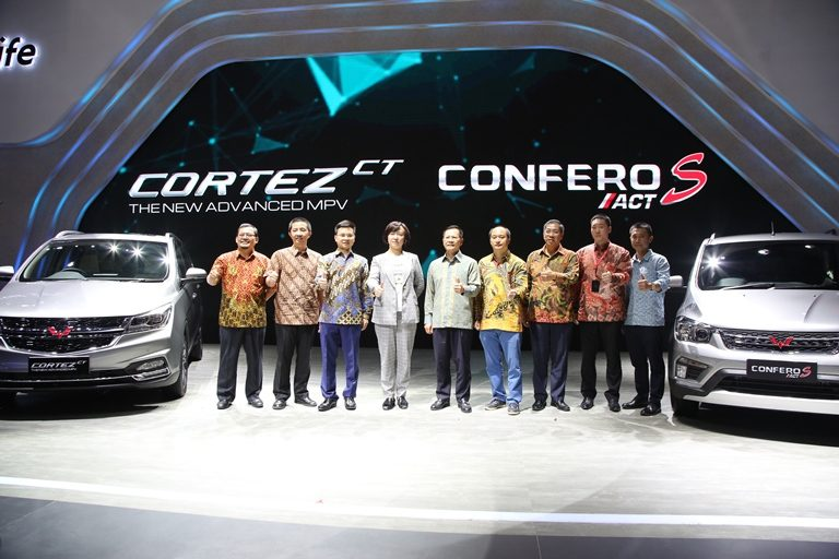 Varian Terbaru Wuling Cortez dan Confero S Resmi Hadir di Indonesia