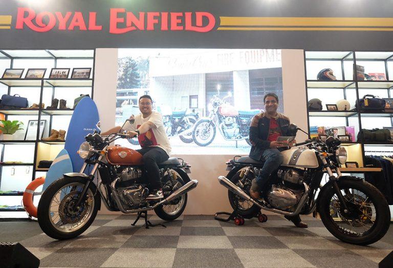 Perkuat Pasar dan Brand, Royal Enfield Luncurkan Dua Motor Mesin Twin Silinder 650 cc di IIMS 2019. Harga Di Bawah Rp 200 Juta