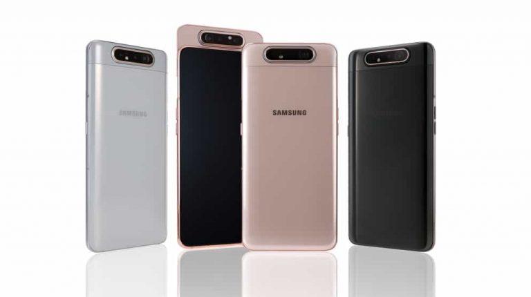 Samsung Keluarkan Galaxy A80 dengan Tiga Kamera Memutar dan Baterai 'Cerdas'