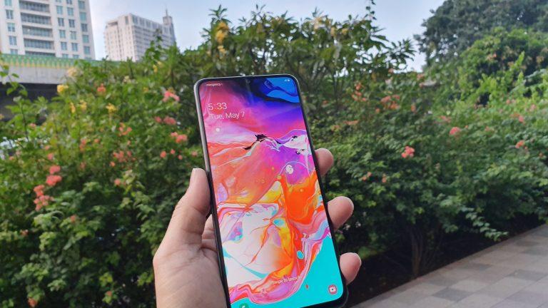 Samsung Luncurkan Galaxy A70 di Indonesia, Harga Rp 5.799.000