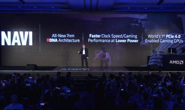 Computex 2019: AMD Umumkan GPU Navi 7 nm dengan Arsitektur Baru, PCI-E 4.0, dan Siap Dipakai PlayStation 5