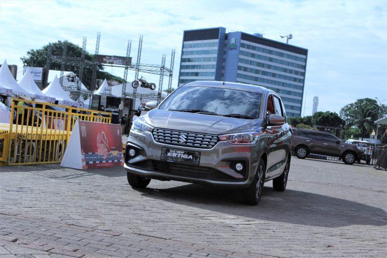 Di Telkomsel IIMS 2019, Suzuki All New Ertiga Minor Change Mampu Pikat Pengunjung