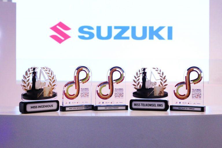 Suzuki 'Gondol' 5 Penghargaan Bergengsi di Ajang IIMS 2019