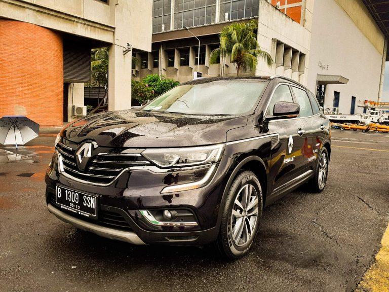 Di Hanggar Garuda, Maxindo Renault Indonesia Meluncurkan Koleos versi MRI 2019