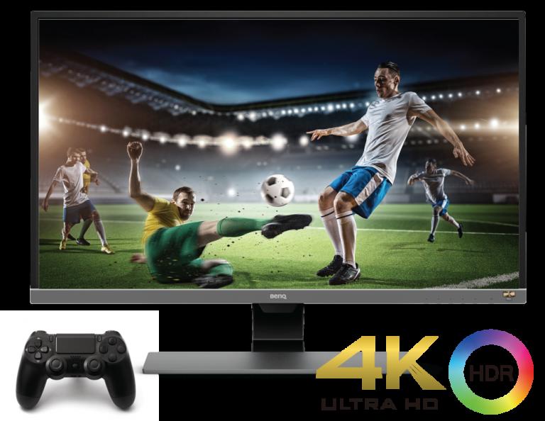 Cocok untuk Gamers, BenQ Hadirkan Monitor HDR 4K Berteknologi Eksklusif Brightness Intelligence Plus
