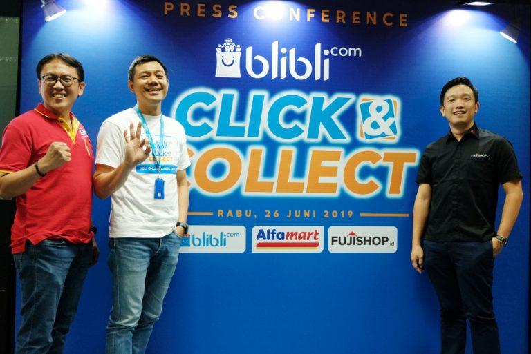 Gabungkan Pengalaman Belanja Online dan Offline, Blibli.com Hadirkan Fitur Click & Collect