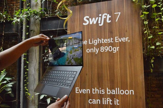 Padukan Gaya dan Prestise, Acer Rilis Swift 7: Laptop Tertipis dan Teringan di Dunia