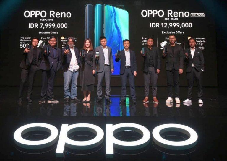 Oppo Reno dan Reno 10x Zoom Resmi Hadir di Indonesia. Ini Harga dan Keunggulannya!