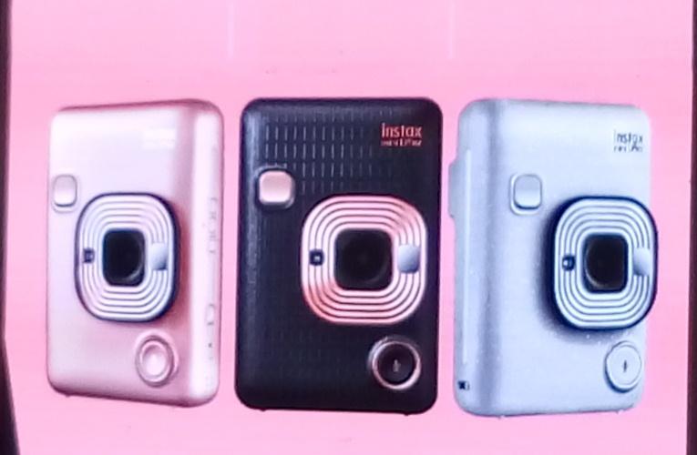 Fujifilm Rilis Instax Mini LiPlay, Kamera dengan Fitur Rekam Suara