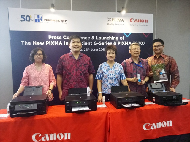 Usung Kemampuan Cetak Jumlah Banyak, Canon Rilis Printer PIXMA G-Series dan TS707