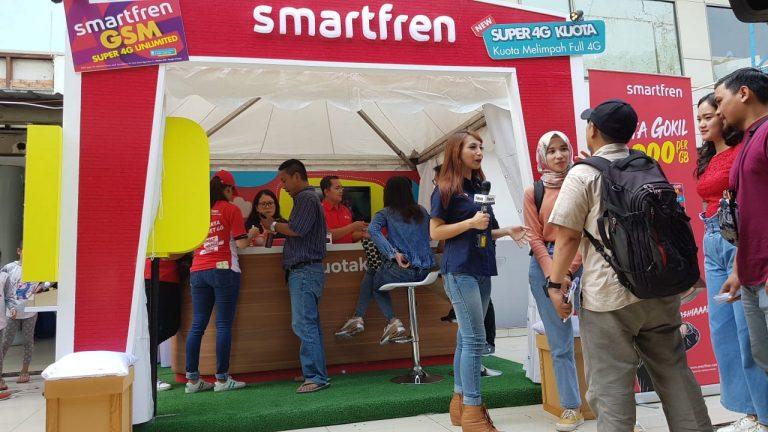 Selama Lebaran 2019, Layanan Streaming Smartfren Alami Kenaikan Cukup Signifikan
