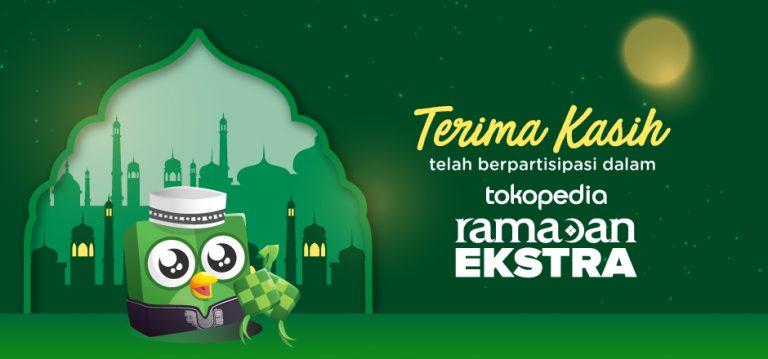 Ukir Rekor Baru, Tokopedia Ramadan Ekstra 2019 Catatkan Nilai Transaksi Rp18,5 Triliun!
