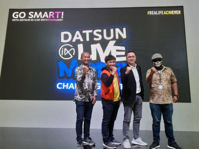 Datsun Tantang YouTuber Otomotif Memodifikasi Datsun GO CVT di Ajang Live Modz Challenge 2019