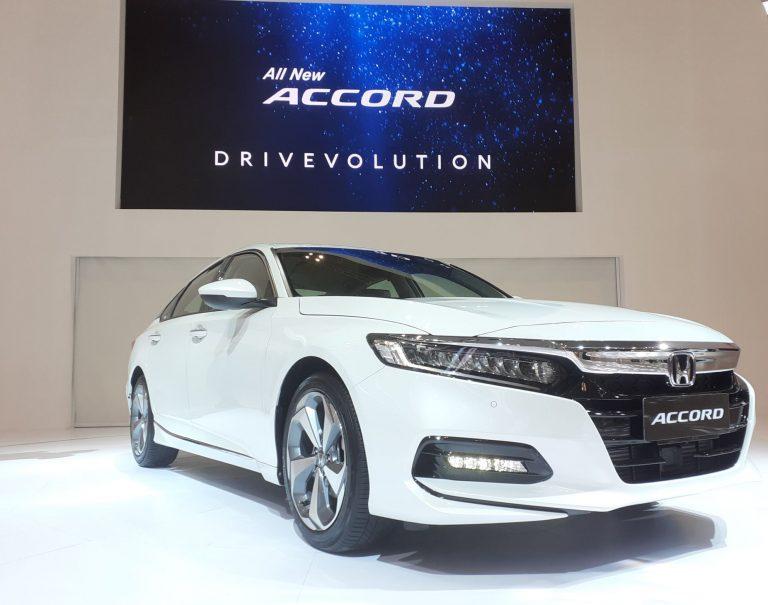 Desain Mewah nan Prestise Generasi Kesepuluh Honda Accord Meluncur di GIIAS 2019, Harganya?