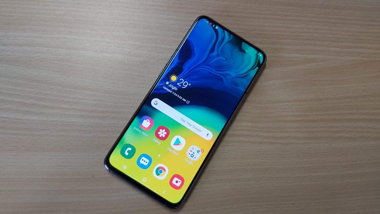 Galaxy A80 opening