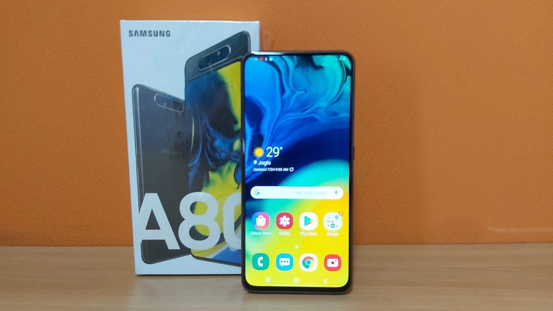 Galaxy A80 utama