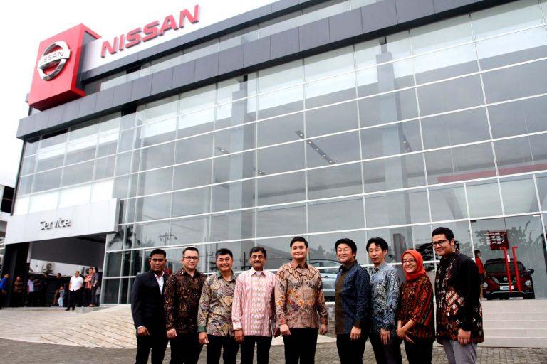 Resmikan Outlet di Medan, Nissan Datsun SM Raja Sudah Mengadopsi Nissan Retail Concept