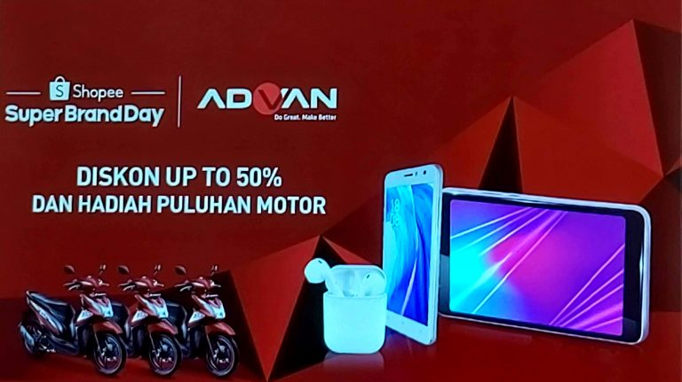 Catat! 8 Juli 2019, Produk-Produk Advan Ini Akan Didiskon Hingga 50 Persen di Shopee 'Advan Super Brand Day'