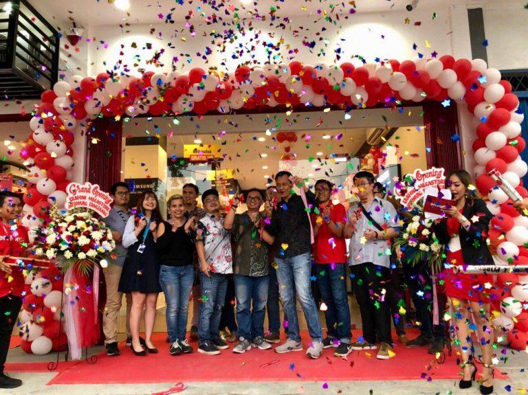 Sepuluh Outlet di Enam Kota Ini Diresmikan Secara Serentak oleh Erajaya Retail Group