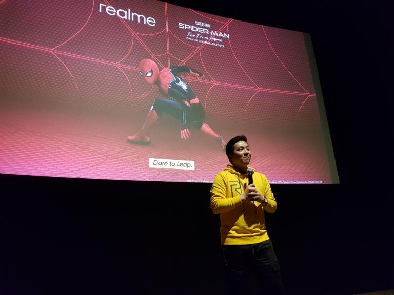 Berkolaborasi dalam 'Spider-Man: Far From Home', Realme Ajak Kaum Muda Berani Berinovasi
