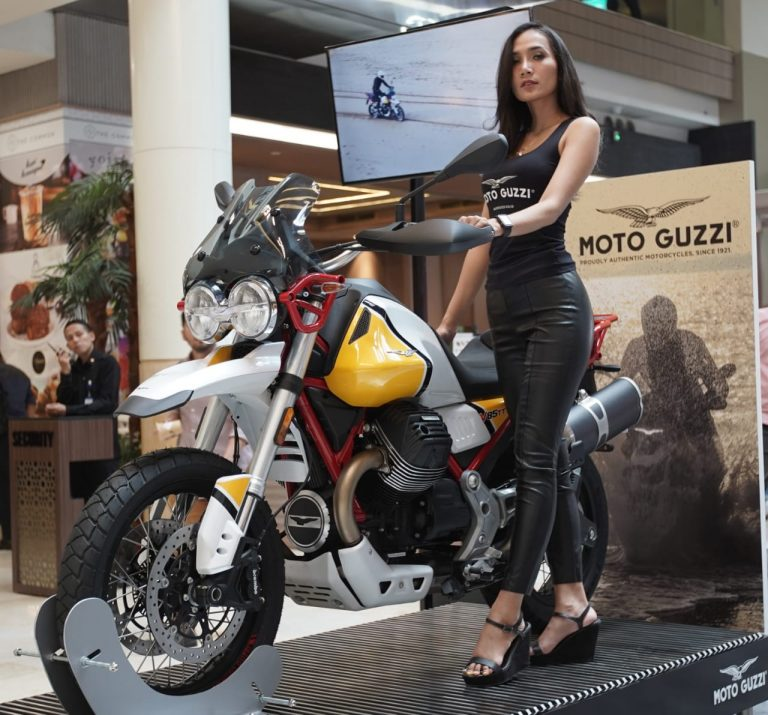 Debut Moto Guzzi V85TT di Indonesia, Sapa Penggemar di Mall-to-Mall Exhibition PT Piaggio Indonesia