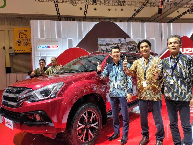 Hadir dalam 3 Seri, Wajah Baru SUV Isuzu mu-X Tampil Perdana di GIIAS 2019