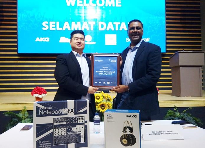 Hadirkan Solusi Audio dan Tata Cahaya, Harman Resmi Tunjuk IMS Jadi Distributor di Indonesia