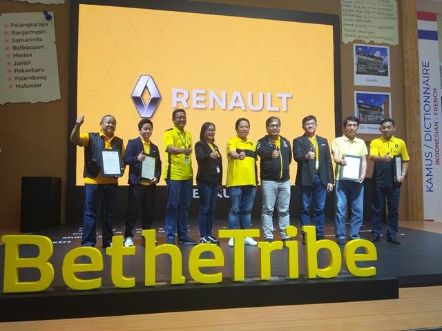 Maxindo Renault Indonesia Memperkenalkan dan Mengukuhkan Mitra Dealer Renault Seluruh Indonesia