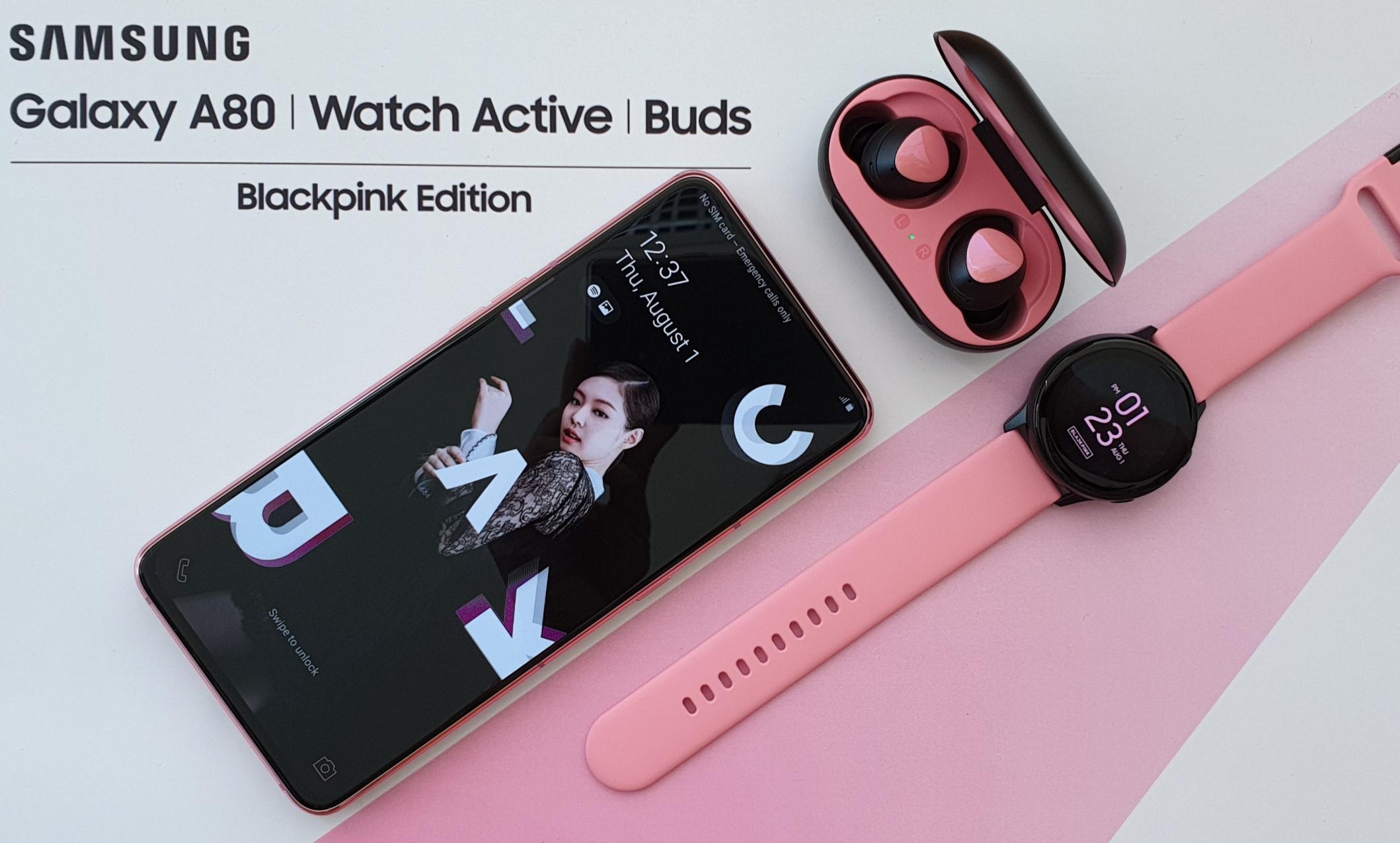 Samsung Galaxy A80 Edisi Spesial Blackpink - Jenny