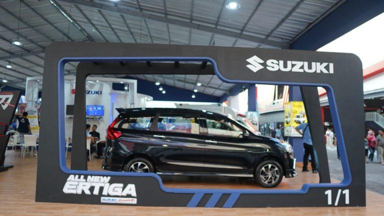 Capaian Suzuki di Jakarta Fair 2019, All New Ertiga dan New Carry Pick Up Jadi Bintangnya Suzuki