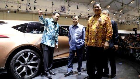 Resmikan GIIAS 2019, Wapres JK Berharap Sektor Otomotif Menjadi Basis Ekonomi Indonesia