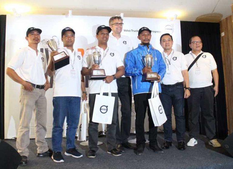 Pria Ini Rebut Juara Satu di Babak Final Volvo Trucks Indonesia Driver Challenge 2019