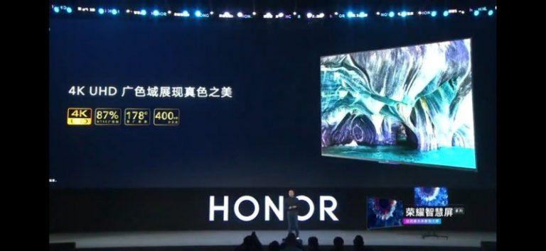 Inilah Dua Smart TV Honor Vision dengan HarmonyOS. Salah Satunya Punya Kamera Pop-up