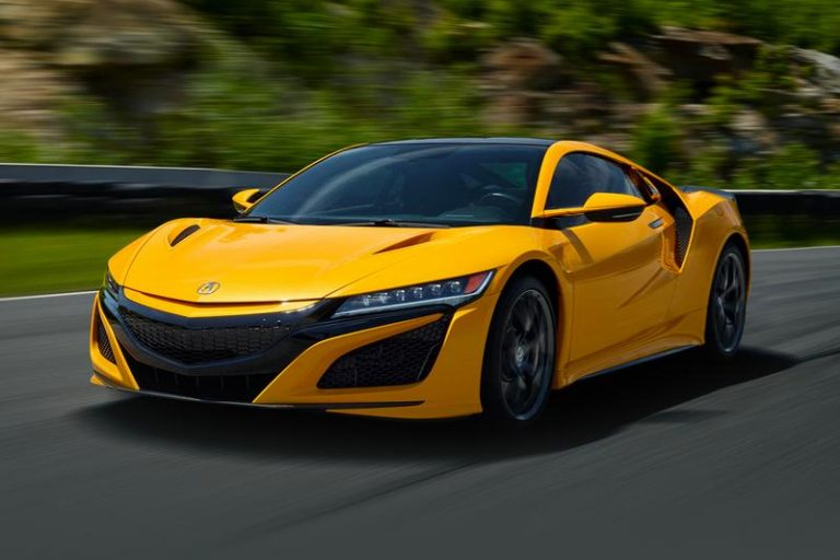 "Curi Perhatian di Monterey Car Week 2019, NSX ""Indy Yellow Pearl"" Bisa Dipesan Bulan November"