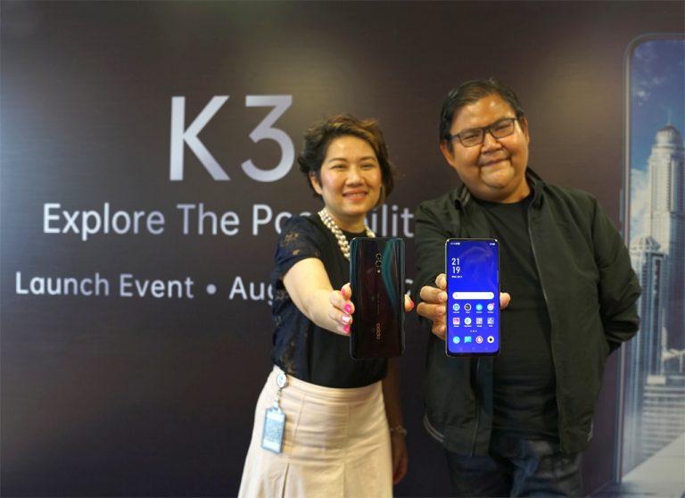 Baru Dijual Online Rp 3,6 Juta, Oppo K3 Ramaikan Ponsel Layar Penuh dan Kamera Pop-up
