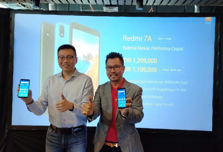 Perkuat Dominasi di Segmen Entry Level, Xiaomi Rilis Redmi 7A. Harga Rp 1 Jutaan