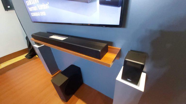 Hadirkan Pengalaman Audio Terbaik, Samsung Luncurkan Harman Kardon Soundbar Q90R