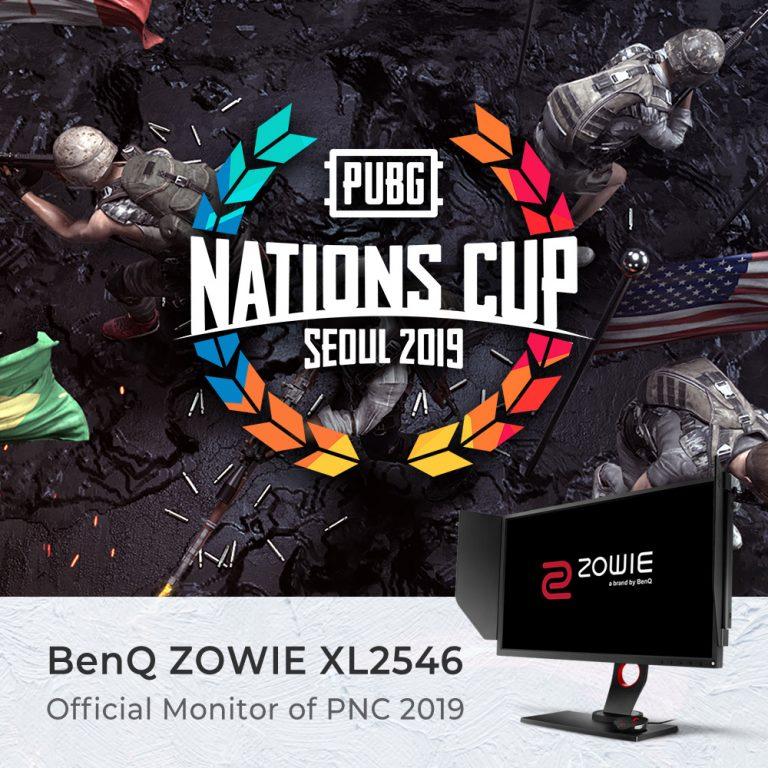 BenQ Zowie XL2546 Jadi Monitor Resmi PUBG Nation Cup 2019 Seoul
