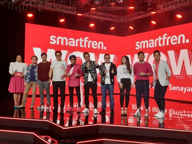 Sukses Raup 20 Juta Pengguna Selama 12 Tahun Berkiprah, Smartfren Persembahkan 'Smartfren WOW Concert'