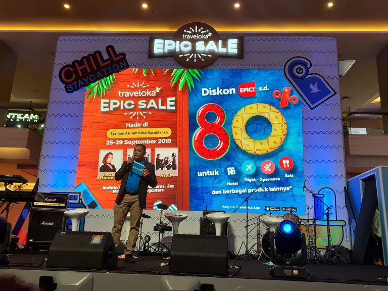 Traveloka Epic Sale Jilid II Kembali Digelar, Targetkan Peningkatan Trafik Pengunjung Hingga 28x Lipat!