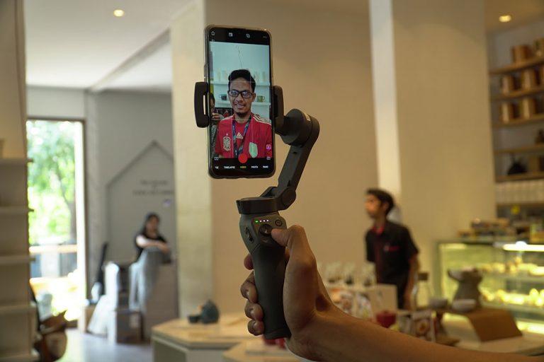 """Incar Kalangan """"Tech Lifestyle"""", DJI dan Erajaya Resmi Meluncurkan Osmo Mobile 3 ke Indonesia"""